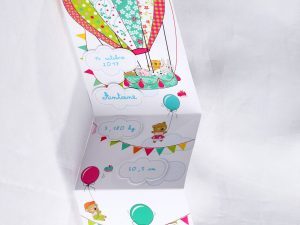 Faire part Naissance 89466 Colore En ballon Faire Part Selection 1