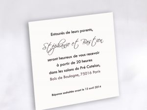 Invitation Mariage 58832 Blanc Beautiful Faire Part Selection.