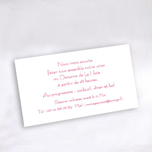 Invitation Mariage 58884 Blanc Divine Idylle Faire Part Selection.