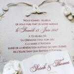 Faire part Mariage 47657 Ivoire Colombes Faire Part Selection 2