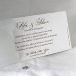 Faire part Mariage 49446 Blanc Croco Magnolia Faire Part Selection 2