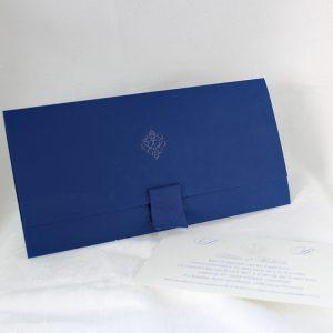 Faire part Mariage 49468 Bleu Lotus Faire Part Selection