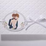 Faire part Mariage 49501 Romantique Blanc Perfect Day Faire Part Selection 3