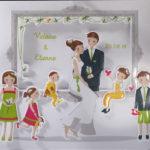 Faire part Mariage 49504 Famille Le tourbillon de la vie Faire Part Selection 3
