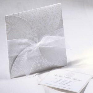 Faire part Mariage 49506 Blanc Always Faire Part Selection