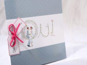 Faire part Mariage 49521 Romantique Les mots bleus Faire Part Selection