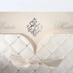 Faire part Mariage 49522 Matelasse La Cenerentola Faire Part Selection 3