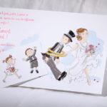 Faire part Mariage 49566 Famille Salut les amoureux Faire Part Selection 3