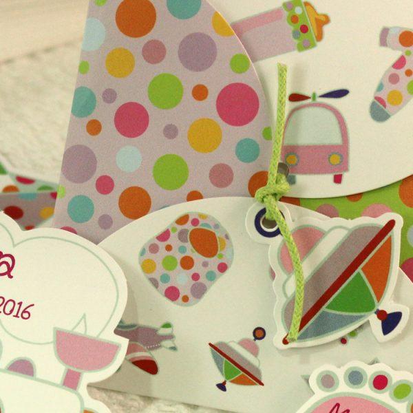 Faire part Naissance 89305 Colore Les jouets Faire Part Selection 3