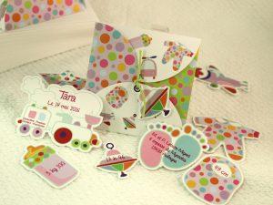 Faire part Naissance 89305 Colore Les jouets Faire Part Selection