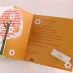 Faire part Naissance 89312 Colore Sur un arbre perché Faire Part Selection 2