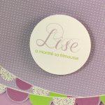 Faire part Naissance 89315 Violet Fanions Faire Part Selection 3