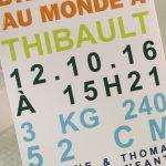 Faire part Naissance 89317 Tirette Bienvenue bébé Faire Part Selection 3