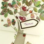 Faire part Naissance 89322 Forêt L'arbre de la vie Faire Part Selection 3