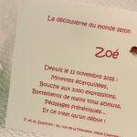 Faire part Naissance 89335 Rose Lotus Fille Faire Part Selection 2