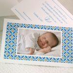 Faire part Naissance 89348 Bleu La pochette Garçon Faire Part Selection 2