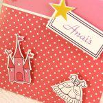 Faire part Naissance 89351 Rose Vie de princesse Faire Part Selection 3