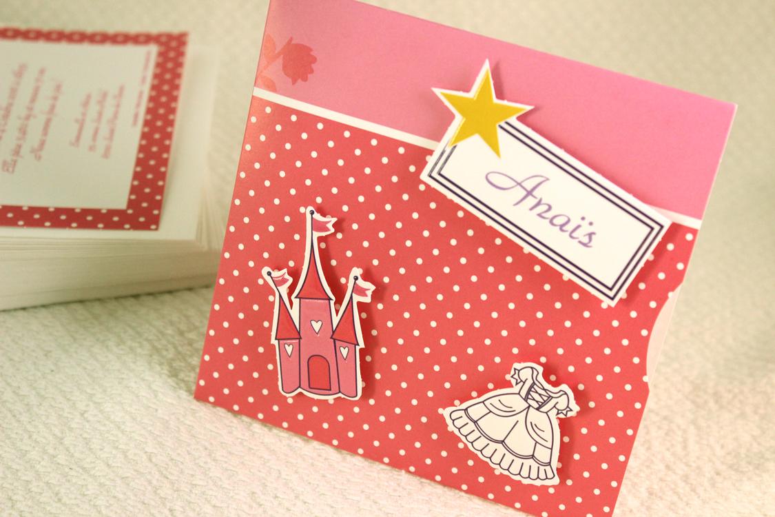 Faire part Naissance 89351 Rose Vie de princesse Faire Part Selection