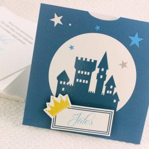 Faire part Naissance 89379 Bleu Petit prince Faire Part Selection