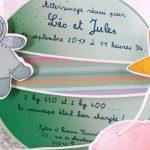 Faire part Naissance 89381 Mobile La tête dans les étoiles Faire Part Selection 2