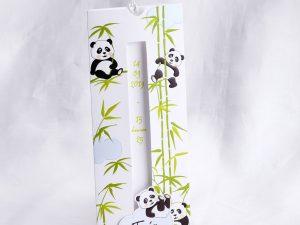 Faire part Naissance 89403 Tirette La famille panda Faire Part Selection