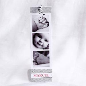 Faire part Naissance 89417 Graphique Marque-page hype Faire Part Selection