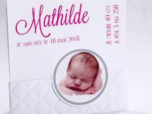 Faire part Naissance 89430 Blanc Bébé chic Faire Part Selection 2