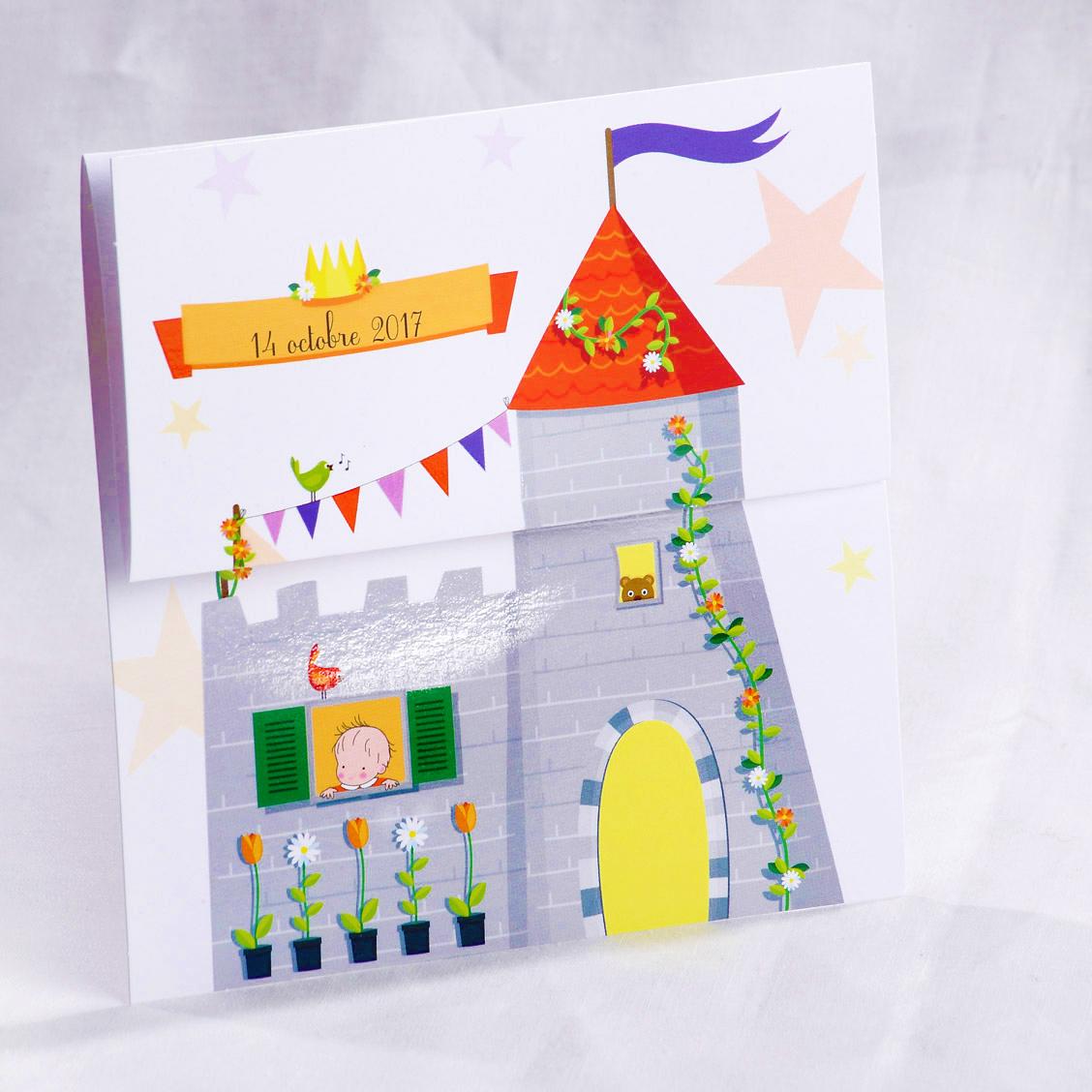 Faire part Naissance 89469 Colore Petit prince est arrivé Faire Part Selection