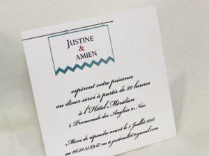Invitation Mariage 59517 Romantique Pavane Faire Part Selection