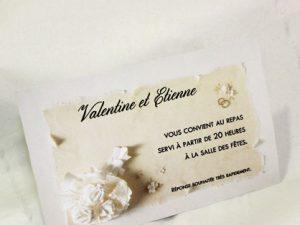 Invitation Mariage 59564 Ivoire La declaration Faire Part Selection