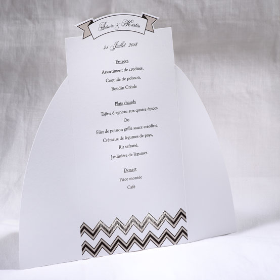 Menu Mariage 19504 Blanc Marry You Faire Part Selection 2