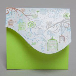 Faire part Naissance 89281 Vert Dans les arbres Faire Part Selection