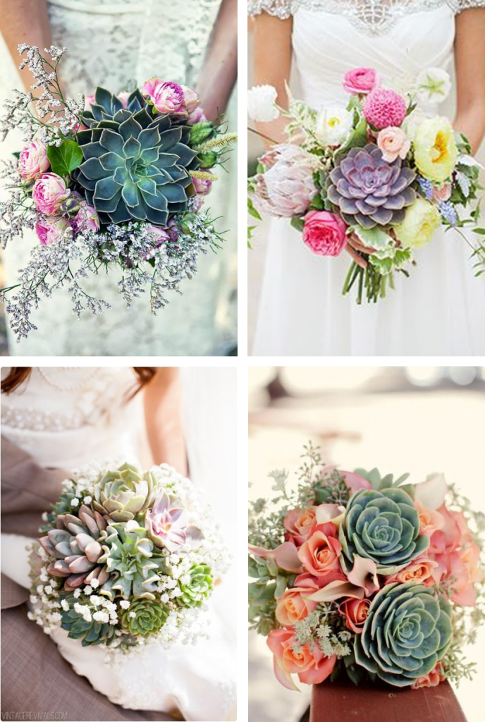 Thème Mariage Les Succulentes Bouquets Faire Part Selection