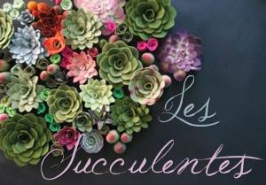Thème Mariage Les Succulentes Titre Faire Part Selection