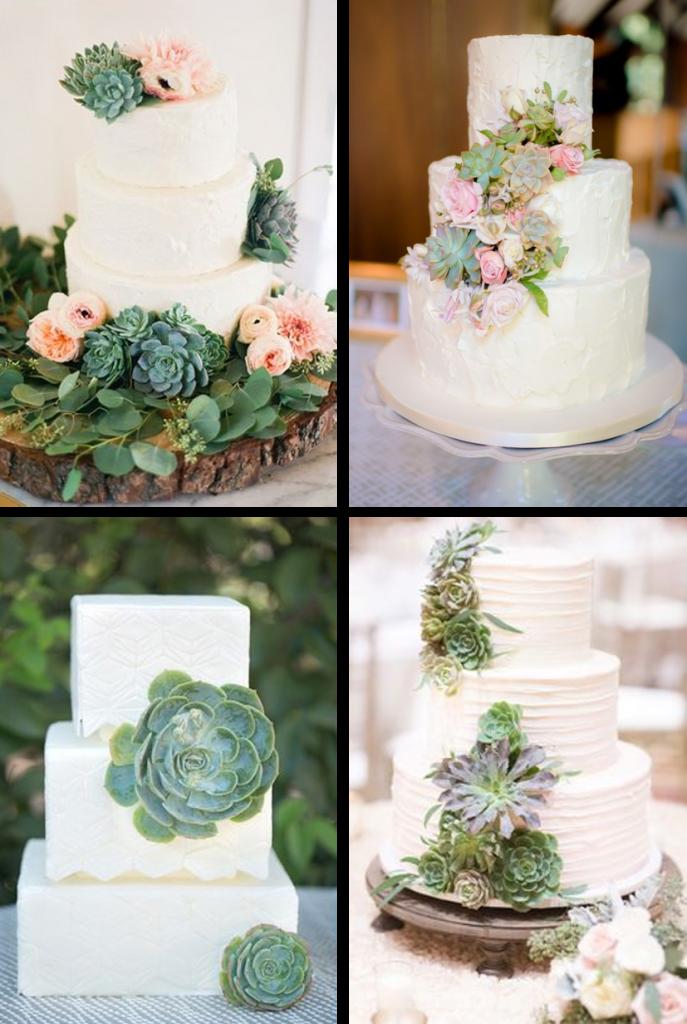 Thème Mariage Les Succulentes Wedding Cakes Faire Part Selection
