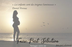 enceinte en ete faire-part selection