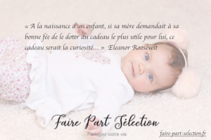 faire-part naissance decale faire part selection