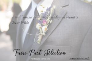 mariage inoubliable faire-part selection
